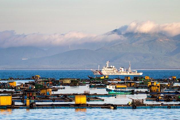 青岛滨海渔场地图